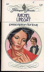 PRESCRIPTION FOR LOVE by Rachel Lindsay  #217