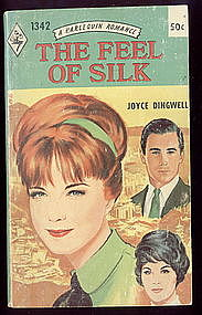THE FEEL OF SILK by Joyce Dingwell  #1342