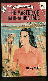 THE MASTER OF BARRACUDA ISLE by Hilary Wilde #5-1546