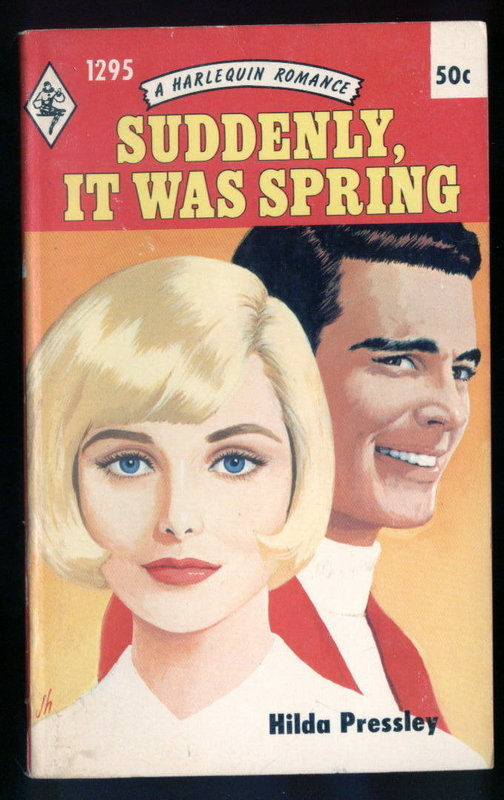 SUDDENLY, IT WAS SPRING by Hilda Pressley  #1295