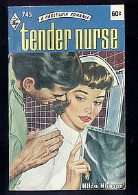 TENDER NURSE by Hilda Nickson  #745