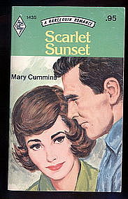 SCARLET SUNSET by Mary Cummins  #1435