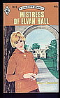 MISTRESS OF ELVAN HALL by Mary Cummins  #1612