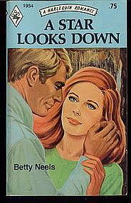 A STAR LOOKS DOWN by Betty Neels #1954