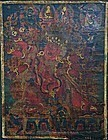 Sino-Tibetan Thangka of Hayagriva 16-17th Century