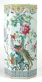 Chinese Famille Rose Vase - Circa 1905