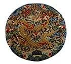 Chinese Imperial KESI Dragon Roundel Badge 19th C
