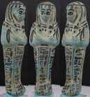 "Ancient egyptian fayence ushabti of Osiris ""Tanethut"" 12cm"