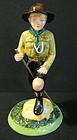 Royal Doulton Ltd. Edition Boy Scout Figurine