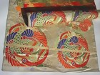 Beautiful Nishijin Silk Obi Roll - full length