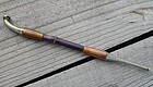 Antique Japanese Silver and Copper Tobacco Pipe