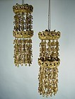 Antique Gold Temple Hanging Ornaments