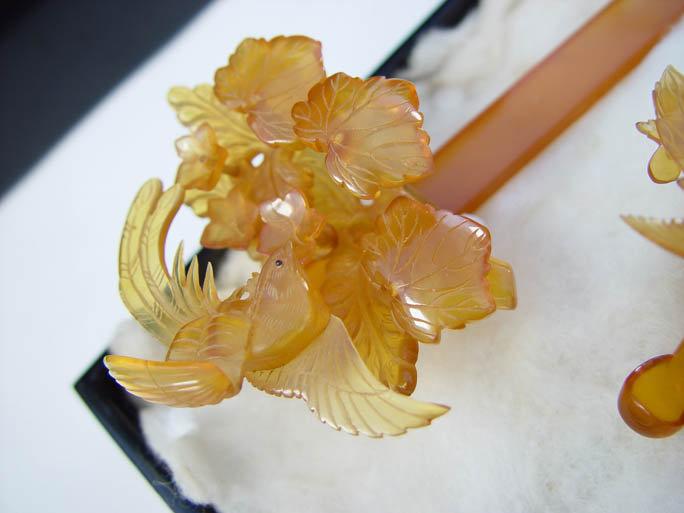 Antique Bridal Kanzashi Set, Japanese Hair Ornament