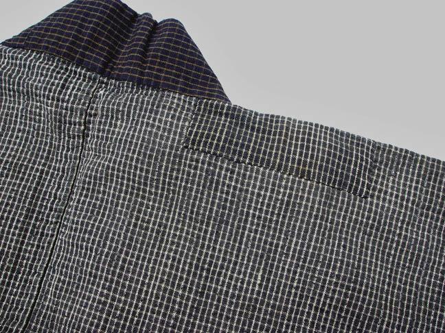 Antique Japanese Cotton Jacket, Sashiko Stitches