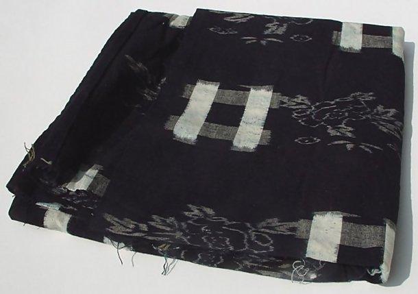 Kasuri Cotton Panel, Futon Cover, Indigo Dye