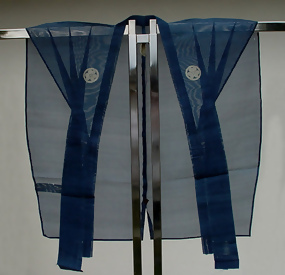 Japanese Antique Kamishimo, Samurai's Official Attire