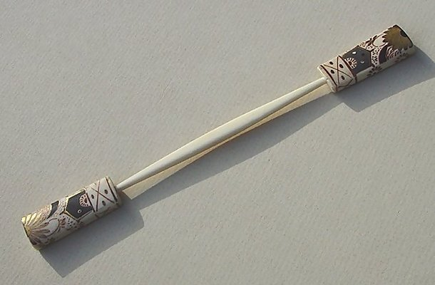 Kanzashi, Old Kogai Japanese Hair Pin