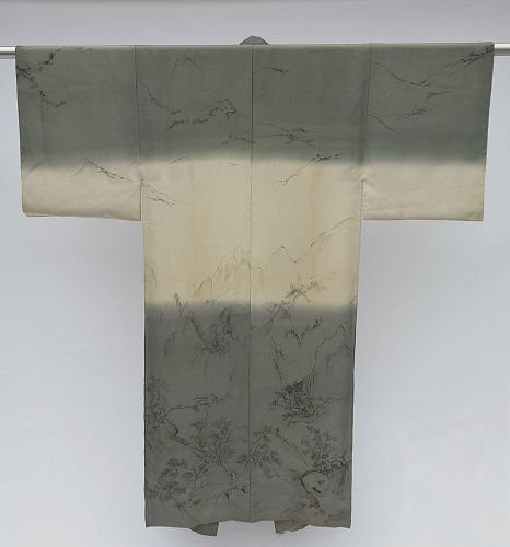 Amazing Artwork in Mens Silk Juban