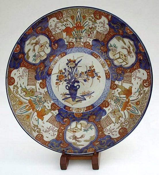 Antique Imari Charger, late Edo