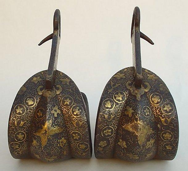 Japanese Samurai Abumi Stirrups