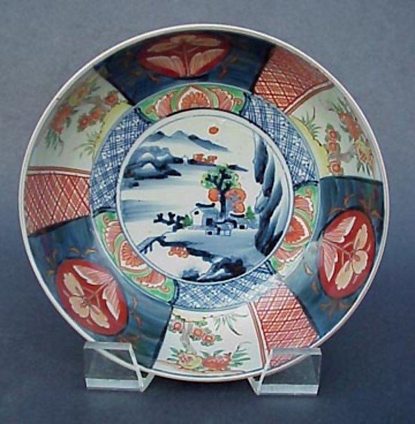 Large Japanese Antique Imari Bowl