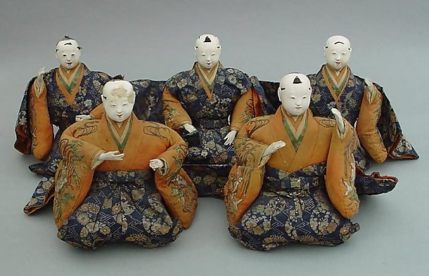 Large Edo Musician Dolls, Hina Dolls, Additional Photos