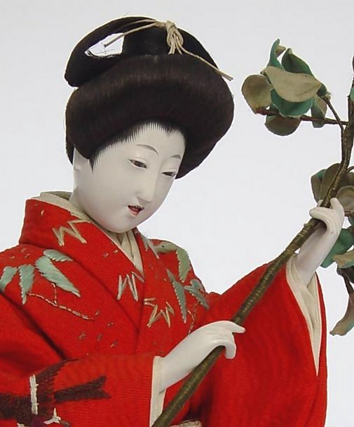 Beautiful Chigo Ningyo Hina Doll, Maruhei