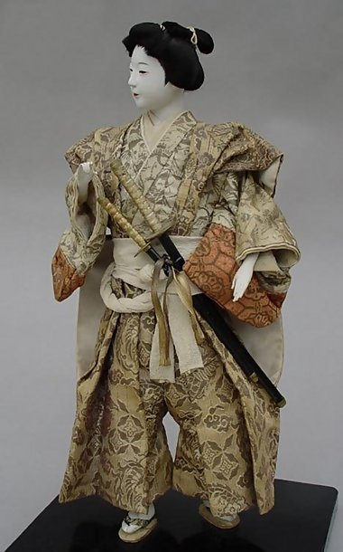 Wakashu Ningyo, Young Man Doll