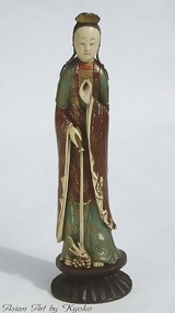 Antique Ivory Figure Guanyin, Goddess of Mercy