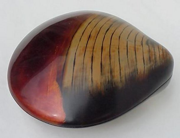 Japanese Lacquerware, Shell Shaped Container