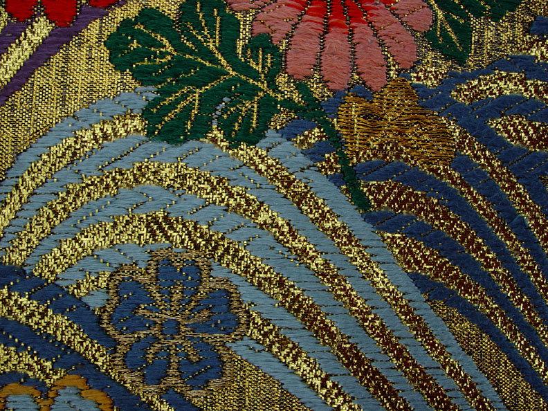 Gold Japanese Uchikake Wedding Gown by Yumi Katsura