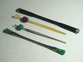 Jade Kanzashi Hair Pin Accessories, set of 4