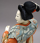 Antique Japanese Doll, Maiden of Genroku