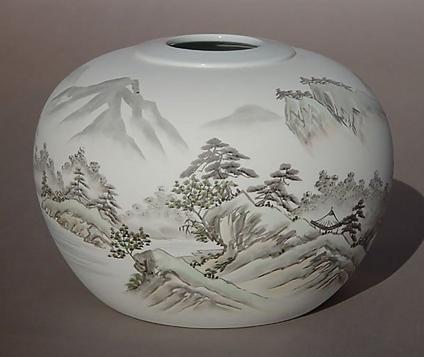 Fukagawa Vase, Rural landscape of Japan