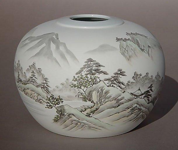Fukagawa Vase, Rural landscape of Japan
