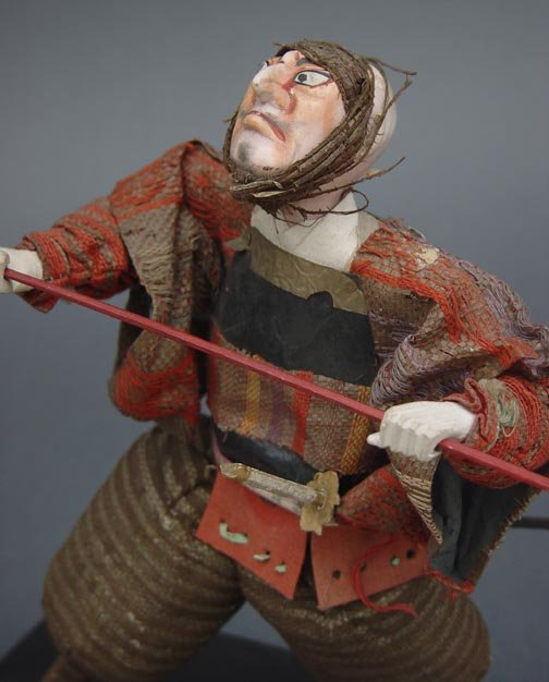 Japanese Takeda Samurai doll from Kabuki Theater