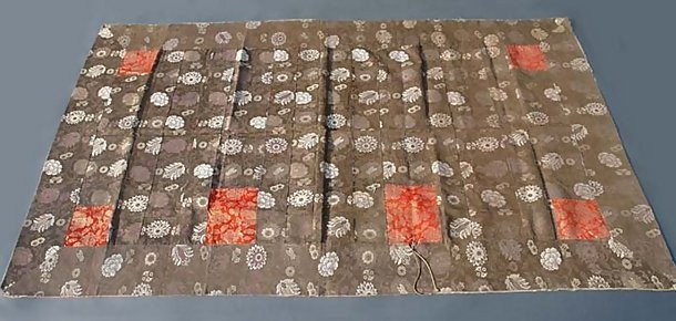 Old Kesa, A Robe of Japanese Buddhist priests, Brown