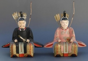 Old Zuishin Wood figures, The Guardians of Shrines