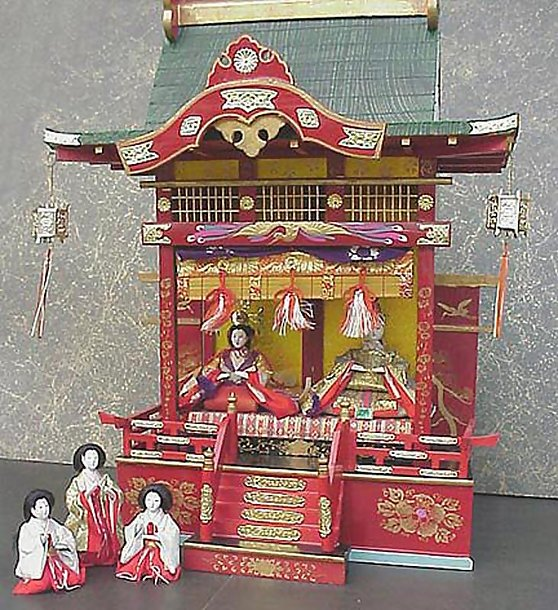 Old Japanese Hina Doll House #2 Hina Goten Palace