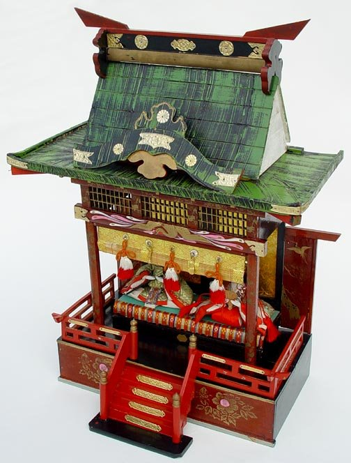 Old Japanese Hina Dolls House #3