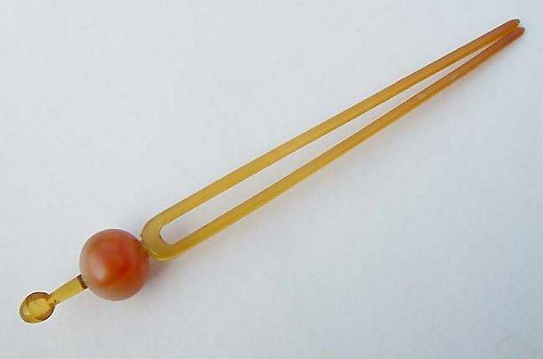 Antique Tama Kanzashi Japanese Hair Pin