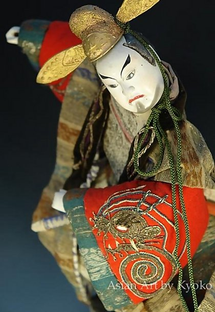 Antique Takeda Samurai Doll