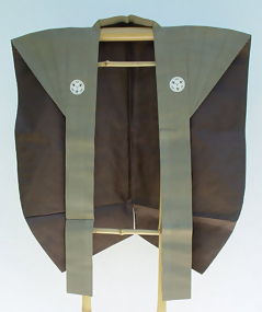 Samurai Kamishimo in Tan Color