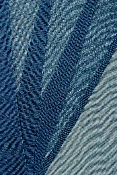 Samurai Kamishimo, Blue See-Through Tsumoji Kataginu