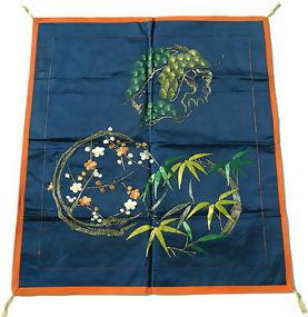 Old Fukusa, Japanese Silk Gift Cover, Sho-Chiku-Bai