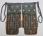 Old Haidate, Samurai's Thighguards, Metals on Katazome
