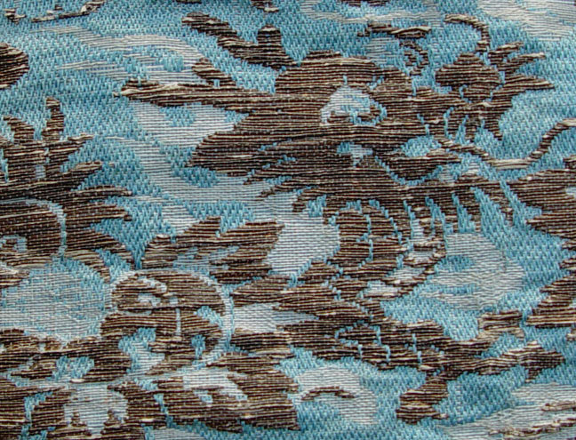 Japanese Temple Cloth, Old Obi, silver brocade