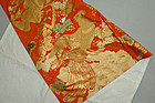 Large Silk Brocade, Phoenix Birds on Paulownia Tree
