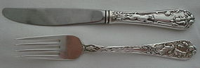 DELIGHTFUL REED & BARTON YOUTH KNIFE & FORK