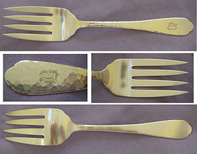 HAND WROUGHT FORK � GAYLORD SILVERCRAFT